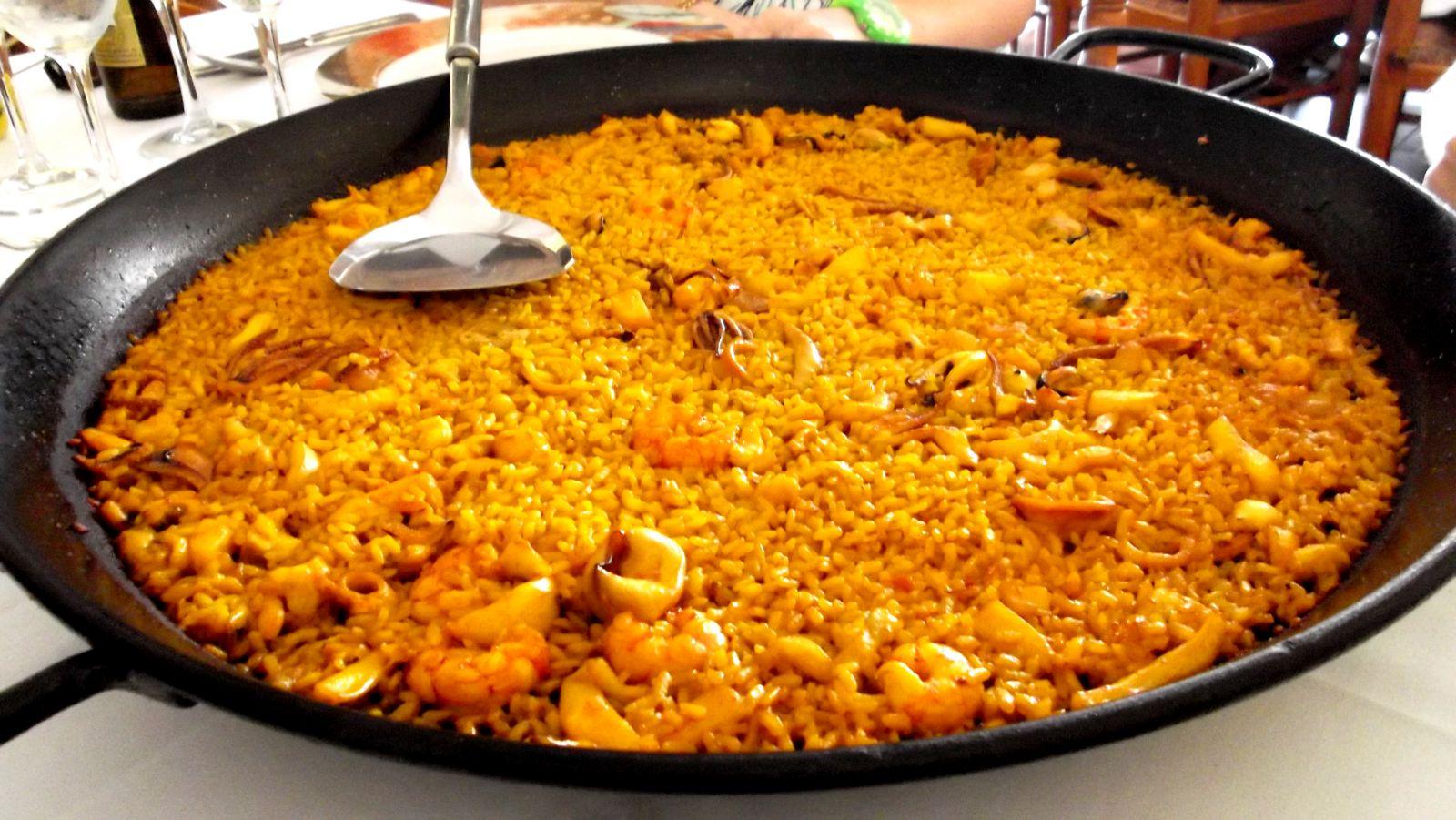arroz a banda valenciano en madrid