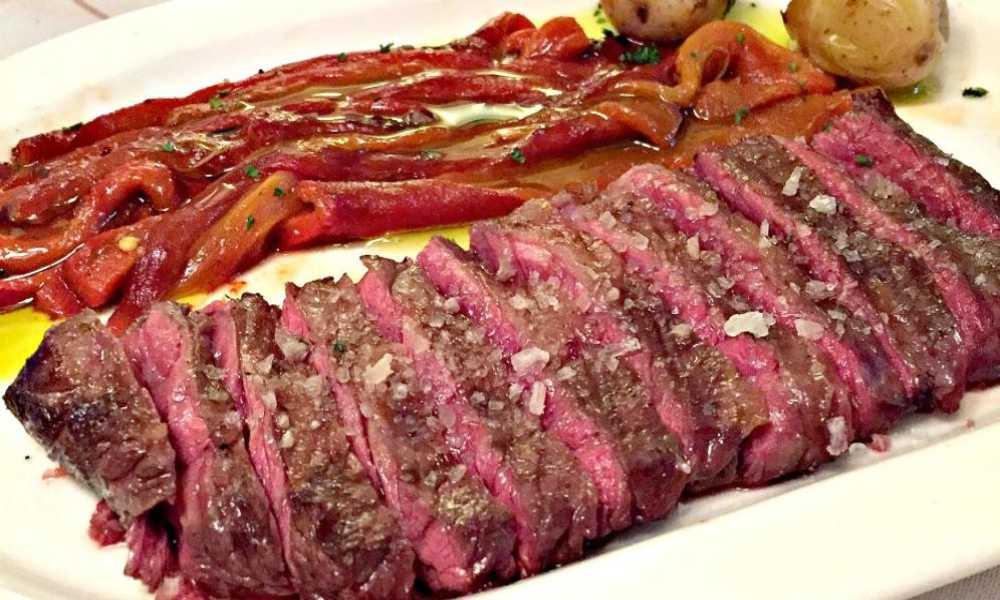 Lomo de buey asturiano en restaurante salamar madrid