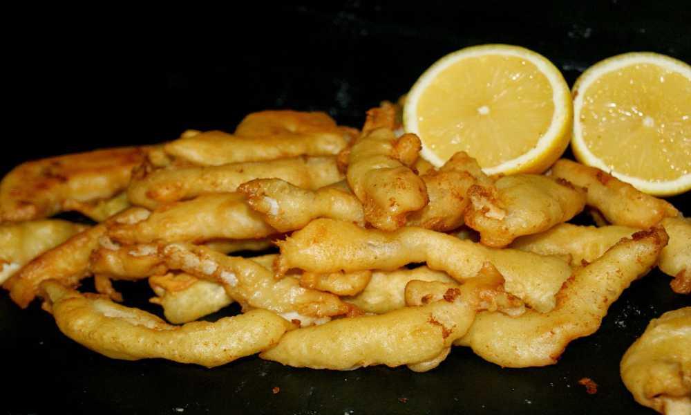 Calamares a la Romana en restaurante salamar madrid