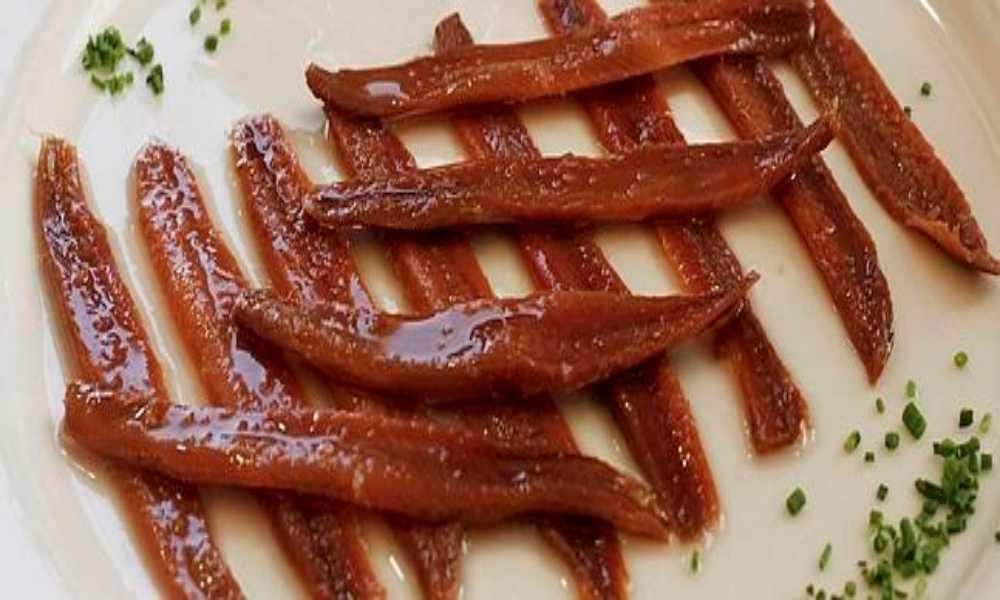 anchoas del cantabrico, en restaurante salamar madrid