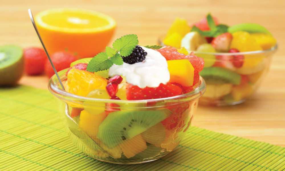ensalada de frutas de temporada en restaurantesalamar.com  madrid
