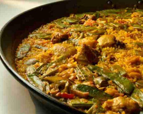 200925 paella de pollo con verduras restaurantesalamar.es com 600 2