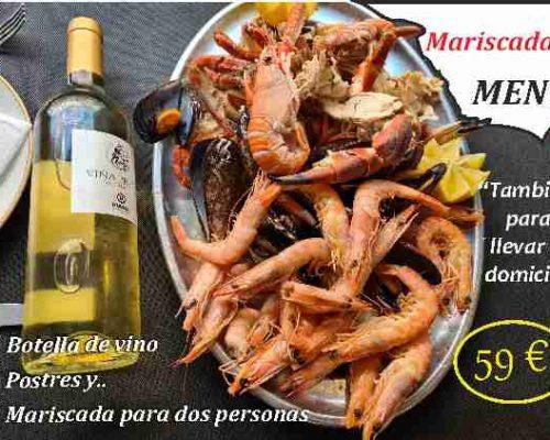 Menu mariscada fin de semana restaurante salamar.com cartegena 103 madrid 600 420