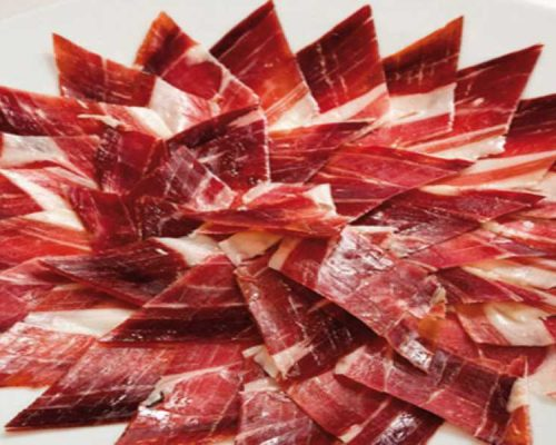 jamon iberico de bellota restaurante salamar madrid