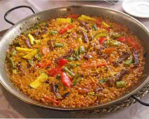 paella de verdura para veganos salamar para dos personas restaurantesalamar.es com madrid 600 paellas, arrocess raciones y marisco para llevar